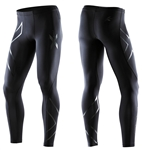 2XU Men's Recovery Compression Tights, Black