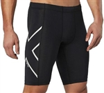 2XU Men's Hyotik Compression Shorts, MA3519b