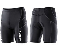 2011 2XU Men's Endurance Tri Shorts, Black