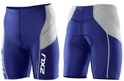 2011 2XU Men's Endurance Tri Shorts, Blue