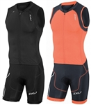 2XU Men's Compression Full Zip Trisuit, MT3614d