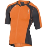 2XU Men's Compression Sleeved Tri Top, MT3615a