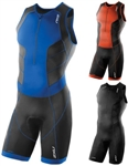 2XU Men's Perform Front Zip Trisuit, MT3858d