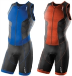 2XU Men's Perform Full Front Zip Trisuit, MT3859d