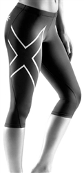 2XU Women's 3/4 Compression Tights