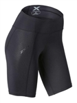2XU Women's Mid-Rise Compression Shorts, WA3027b