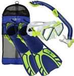 Aqua Lung Kids' 4-Piece Snorkel Set
