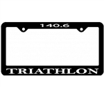 Triathlon License Plate Frame, 140.6