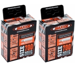 Maxxis Welter Weight Tube, 700x18-25, 60mm PV, 2-Pack