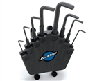 Park Tool HXS-2.2 L-Shaped Hex Wrench Set With Holder