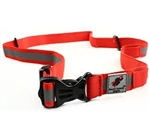 Rocket Science Sports Reflective Race Belt, Red