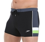 Speedo Fitness 4-Way Stretch Square Leg Swim Trunk