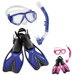 Speedo Jr. Adventure Mask/Snorkel/Fin Set