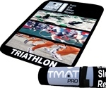 T Mat Pro Triathlon Transition Mat, TRI