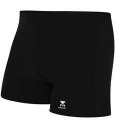 TYR Durafast Square Leg Swimsuit, Black