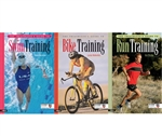 The Triathlete's Guides to Swim, Bike and Run Training Books