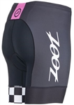 "Zoot Women's Tri Cali 6"" Short, Paradise Checker"