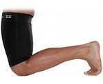 Zensah Thigh Sleeve, Black