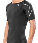 2XU Men's Vented Short Sleeve Compression Top