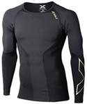 2XU Men's Elite Long Sleeve Compression Top, MA3014a