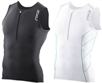 2XU Men's G:2 Long Distance Tri Singlet MT2688a