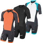 2XU Men's Compression Full Zip Sleeved Trisuit, MT3613d