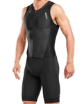 2XU Men's Compression Full Zip Trisuit, MT4839d