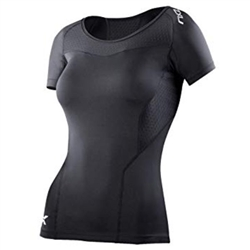 2XU Women's Base Compression Short Sleeve Top - WA2269a
