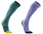 2XU Women's Compression Performance Run Socks, WA2443e