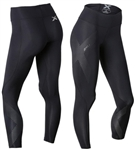 2XU Women's Mid-Rise Compression Tights, WA2864b