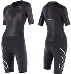 2XU Women's Compressionn Sleeved Trisuit, WT4445d