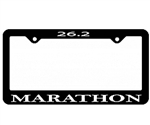 Marathon License Plate Frame, 26.2