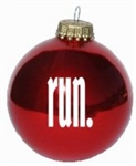 Run Ornament