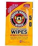 Grease Monkey Degreaser Wipe, Single Use