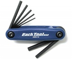 Park Tool Fold Up Hex Wrench Set AWS-10