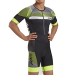 Zoot Men's Ultra Tri Short Sleeve Aero Racesuit, Z1806025