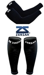 Zensah Compression Arm + Leg Sleeves Package