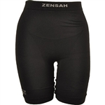 Zensah Unisex High Compression Shorts, Black