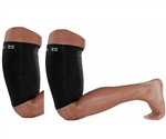 Zensah Thigh Sleeve, Black, Pair